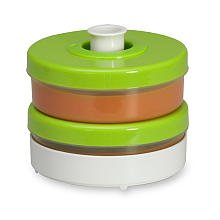 Baby Brezza Duo Storage System - Green