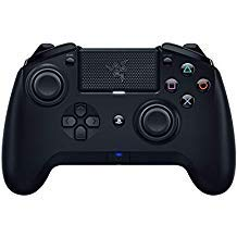 Razer Raiju Tournament Edition with the1.04 Firmware Gaming Controller Bluetooth & Wired Connection (PS4 PC USB Controller with Four Programmable Buttons, Ergonomics Optimized for Esports)