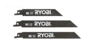 RYOBI レシプロソー刃 ブレードセット3本組 6640775