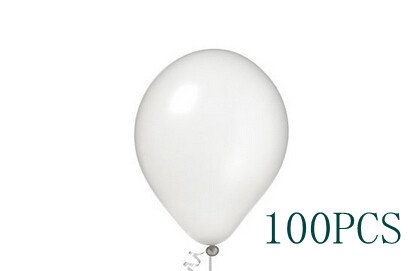 iBUY365 Pearlized White 12 Inch Balloons 100Pcs By iBUY365