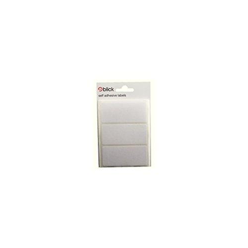 Blick RS00375 Lot d'étiquettes autocollantes Blanc 34 x 75 mm