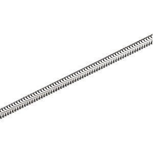 4 mm Round Stainless - Steel Snake Chain