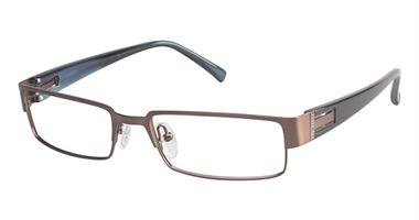 Ted Baker Men'S Optical Eyeglasses B315 Brown Size 53