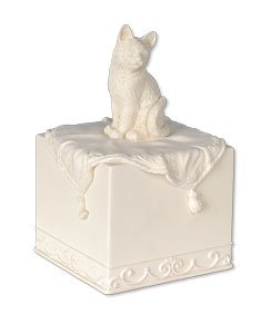 Faithful Friend Cat Cremation Urn