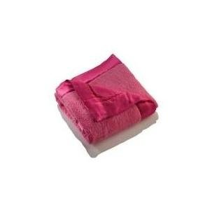 Elegant Baby Plush Microfiber Blankie - Hot Pink