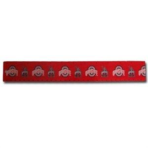 Ohio State Buckeyes Team Logo Ruler: 12 Inch