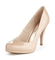 M&S Collection Stiletto High Heel Platform Court Shoes with Insolia®