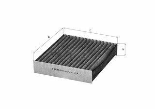 Filter Innenraumluft SMART MITSUBISHI - Mahle LAK 251