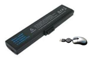 Click to buy Amsahr Replacement Battery for ASUS M9, M9A, M9F, M9J, W7, W7F, W7J - Includes Mini Optical Mouse - From only $39.51