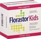 Florastor Kids Probiotic Packets 250 mg, 20 count (Pack of 1)