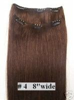 Remy Hair Clip on in Extensions for your back - 24