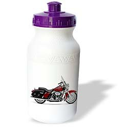 Water Bottle Picturing Harley-Davidson® Motorcycle