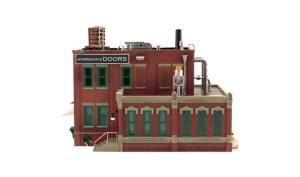WOODLAND SCENICS BR5848 Morrison Door Factory O - 1