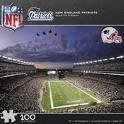 New England Patriots Gillette Stadium Puzzle 100 Pc - 1