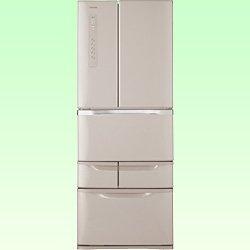 東芝 481L 6ドア冷蔵庫(パールピンク)TOSHIBA VEGETA ベジータ GR-G48FS(P)