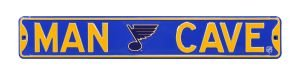 St. Louis Blues Man Cave Street Sign