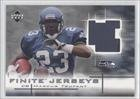 Marcus Trufant Seattle Seahawks (Football Card) 2003 Upper Deck Finite Jerseys #FJMT at Amazon.com