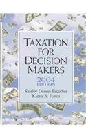 Taxation for Decision Makers by Dennis-Escoffier
