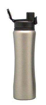 H2Go -Omada SS-20631-BLACK Drinking Bottle Black 800 Ml Stainless Steel