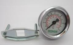 Hitachi 884430 2-1/8-Inch GBSPP Pressure Gauge for Hitachi EC119 and EC129 Air Compressors