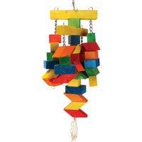 Parallelogram Large Wooden Bird Toy