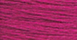 DMC 115 5-718 Pearl Cotton Thread, Plum, Size 5