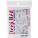 Deep Red Stamps Grunge Ticket Rubber Stamp - 1