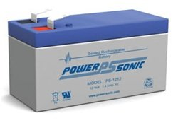 Power-Sonic Genuine PS-1212 12V 1.4 Ah Rechargeable SLA Battery