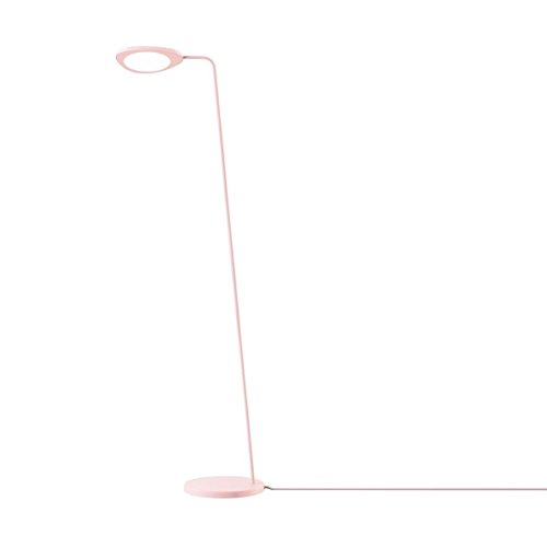 Muuto Leaf LED Stehleuchte, rosa H: 118cm