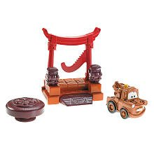 Disney / Pixar CARS 2 Movie Imaginext Exclusive Mater Gong - 1