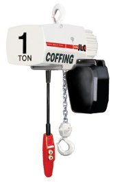 Coffing Hoists Jlc2016-3-10W/Cc 1 Ton 10' Lift Jlc Electric Chain Hoist