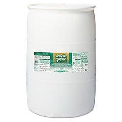 Simple Green 2700000113008 Concentrated Original Formula Cleaner/Deodorizer, 55 gal, Drum