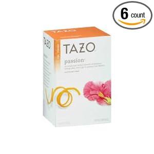 Tazo passion tea caffeine content