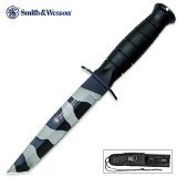 Smith & Wesson CKSURTC Homeland Security Knife with Camo Coated Tanto Blade