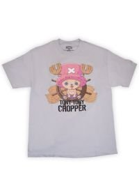 One Piece Chopper Men's T-Shirt White (S)