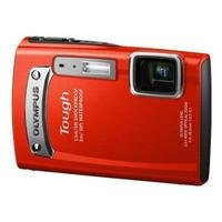 Olympus TG-320 Red 14MP Touch Series Camera with 3.6x Optical Zoom (Red)