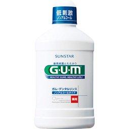GUM デンタルリンス ノンアルコール 500ml