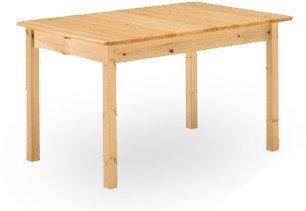 Table en pin massif 130x80 -Brut