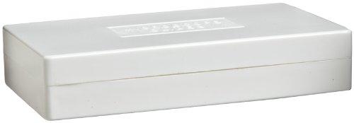 Bel-Art Scienceware 445760000 Polystyrene Microscope Slide Box, For 25 Slides (Pack Of 2)