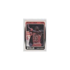 Michael Jordan Chicago Bulls (Basketball Card) 1988-89 Fleer #17 by Fleer