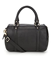 M&S Collection Leather Bowler Bag