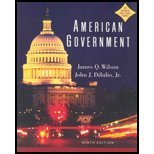 American Government (0618660372) by James Q. Wilson