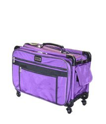 Xl Purple Mascot Tutto Monster Sewing Machine On Wheels Carrier Case from Mascot