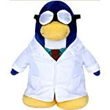 Disney Club Penguin 9 Inch Plush Figure Gary the Gadget Guy (Includes Coin with Code!)