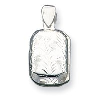 Sterling Silver Locket - JewelryWeb