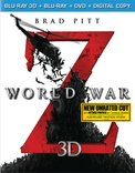 World War Z (Blu-ray 3D + Blu-ray + DVD + Digital Copy)
