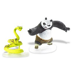 Buy Low Price Mattel Kung Fu Panda Melee Figure – Po Taichi, Viper (B001AJ0P0A)