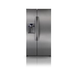 Samsung RSG257 24 Cubic Foot Side by Side Refrigerator with 2 Doors and Integrated Water & Ice