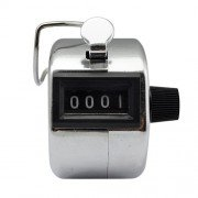 My Valstore 4 Digit Manual Hand Tally Mechanical Palm Click Counter