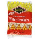 Excelsior Jamaican Water Crackers, 10.57-Ounce Packages (Pack of 24)